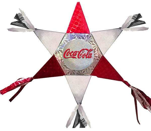 Coca-Cola Mini Star Promotional Pinata