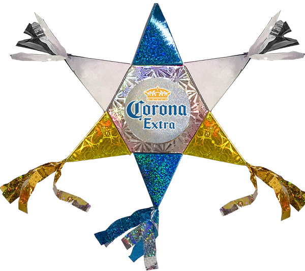 Corona Mini Star Promotional Pinata
