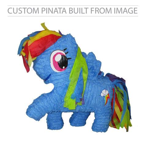 Custom Rainbow Dash Pinata