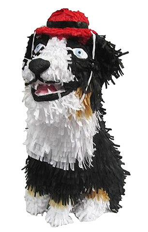 Dog with Red Hat Custom Pinata