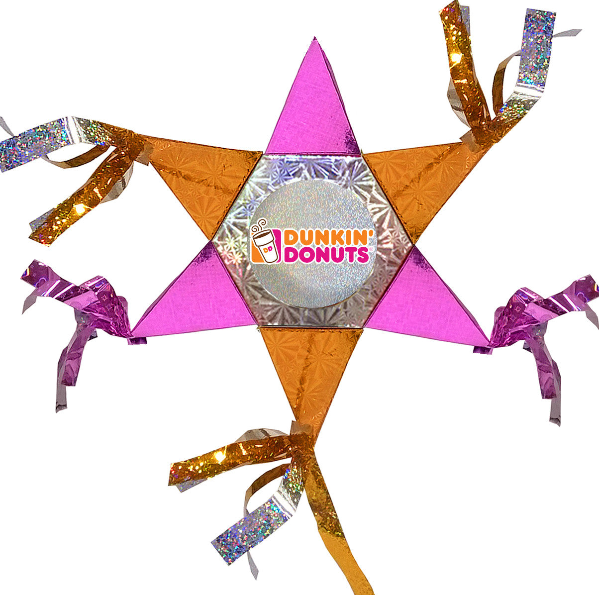 Dunkin Donuts Mini Star Promotional Pinata