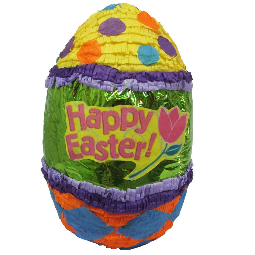 Large Happy Easter Egg Pinata - Signature Line