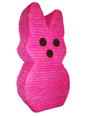 Large Easter Pink Bunny Candy Pinata - Signature Line