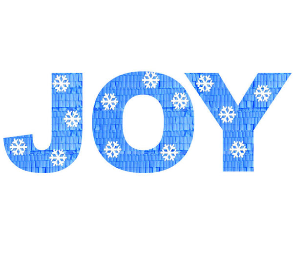 Custom Christmas Joy Message Pinata