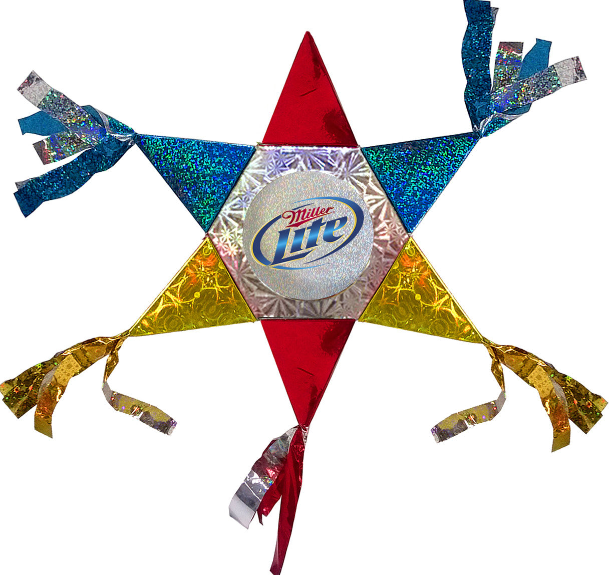 Miller Light Mini Star Promotional Pinata