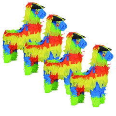 Fiesta Mini Pinata Party Favors 4/Pack