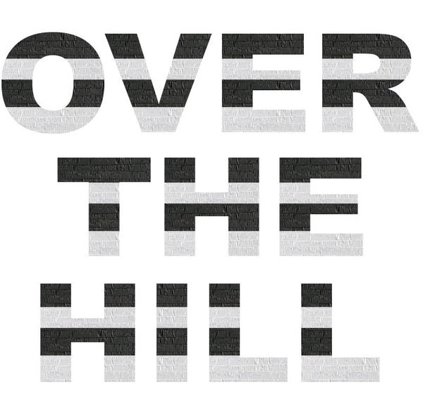 Custom Over The Hill Message Pinata