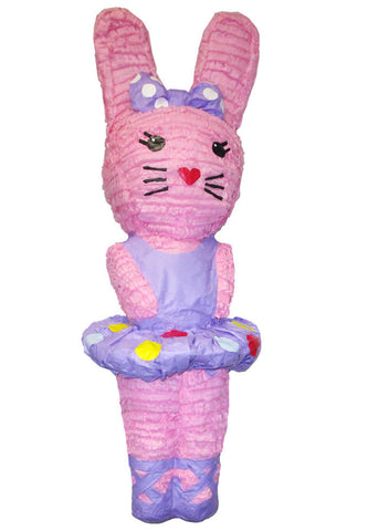 Large Easter Bunny Ballerina Pinata - Signature Line