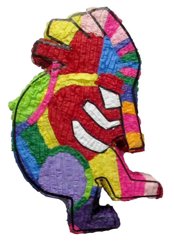 Colorful Kokopelli Custom Pinata