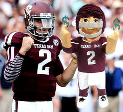Texas A&M Football Player Custom Pinata