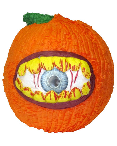 Medium Hungry Eye Pumpkin Pinata