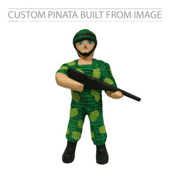 Army Soldier Custom Pinata