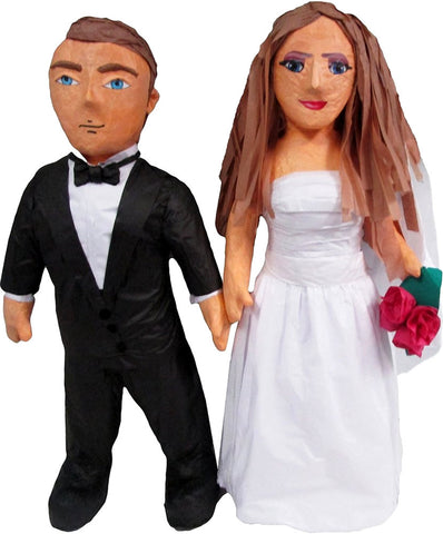 Custom Standing Wedding Couple Pinata