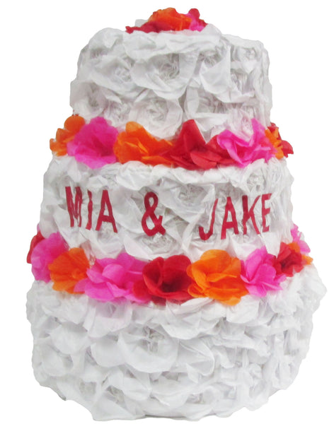 Custom Wedding Cake Pinata
