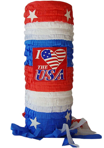Patriotic Windsock Pinata