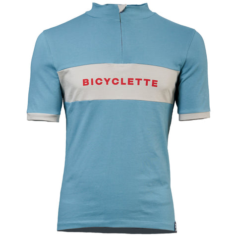 "Wiggo Bicycle Shirt ""Skyblue"" - Limited Edition"