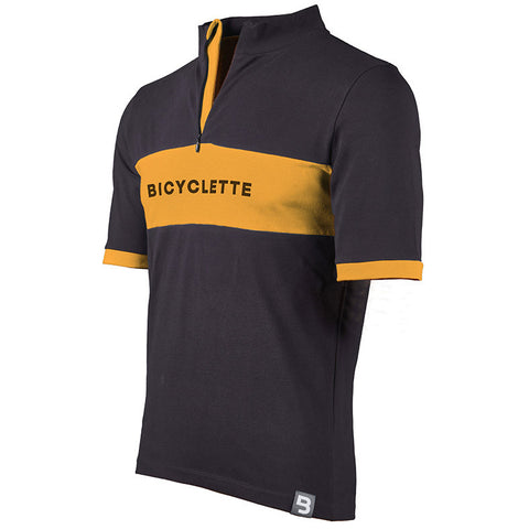 Le Géant Bicyclette Shirt - Anthracite Grey/Molteni Orange
