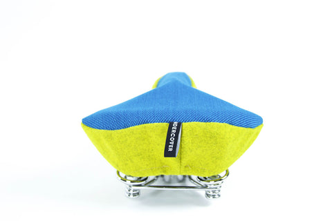 Saddle Cover Classic - Blue/Yellow