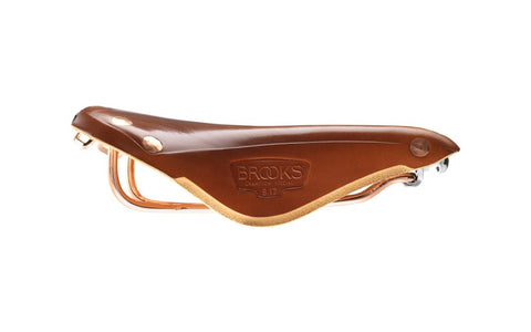 Brooks Bicycle Saddle Team Pro Copper - Honey