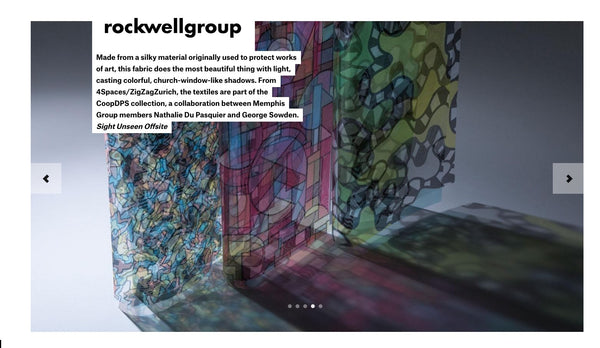Rockwell Group x ZigZagZurich - Best of NYCxDesign 2016 -