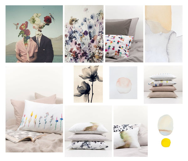 Styling tips for the perfect bedroom: how to mix and match pillows