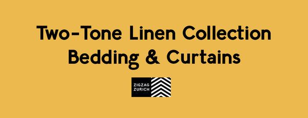 Two-Tone Linen Collection: Bedding & Curtains
