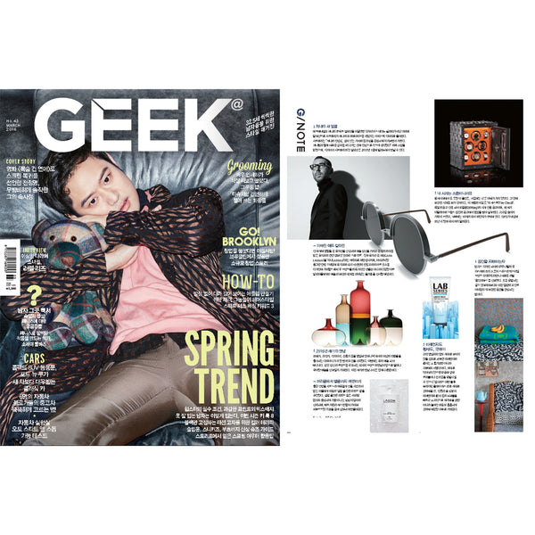"COOPDPS ""Japan"" Cotton Blanket featured in Geek Korea March 2016"