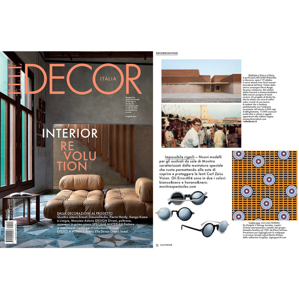 """Electric Kitchen"" Wallcovering/Wallpaper by COOPDPS, ELLE DECOR ITALIA selection October 2017"