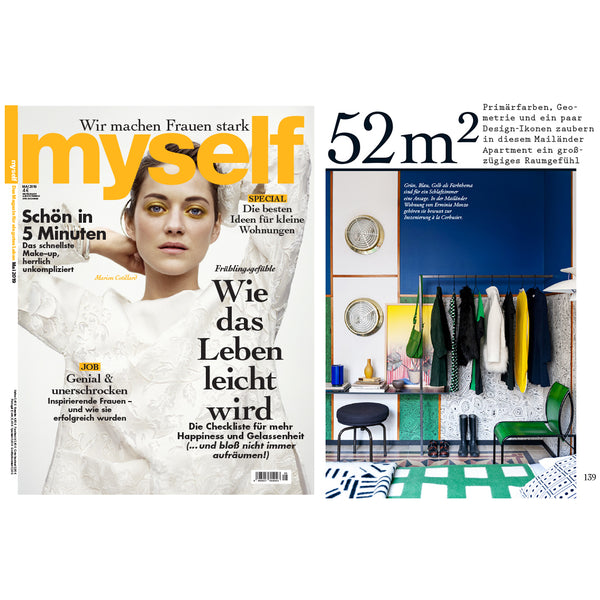COOPDPS Cotton Blankets by Nathalie Du Pasquier & George Sowden, featured in MYSELF GERMANY May 2019