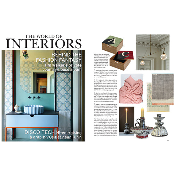 World of Interiors - ZigZagZurich Linen Bedding Review November 2019
