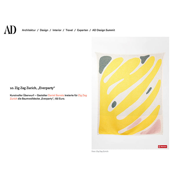 """Everparty"" Blankets and Throws by Daniel Barreto, AD GERMANY favorite selection July 2019"