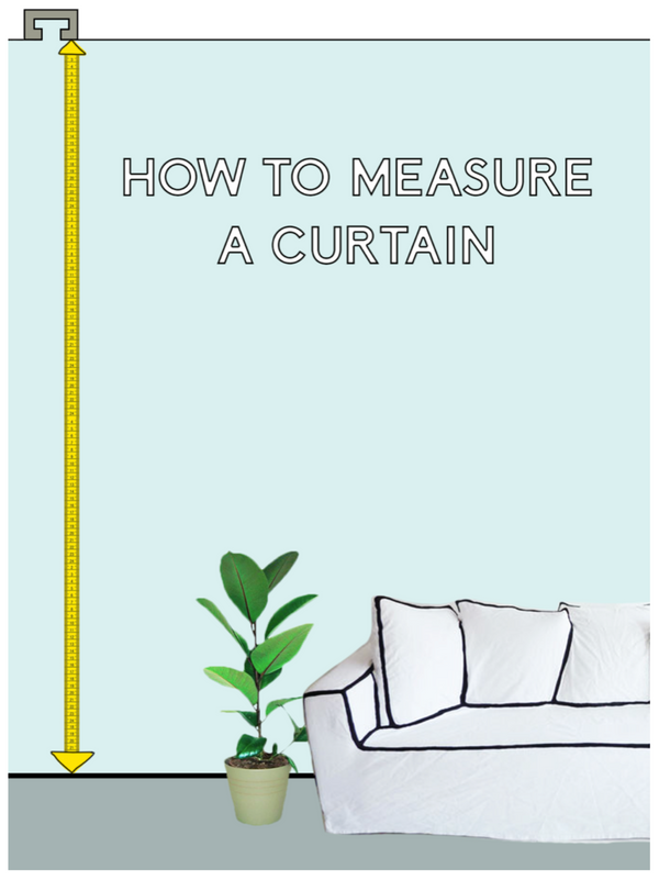 HOW TO MEASURE A CURTAIN