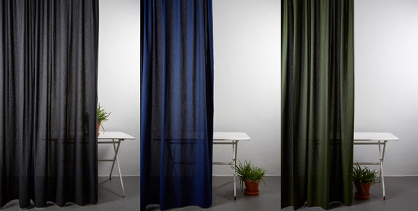 Turn your outdoor space into a stylish lounge with outdoor curtains