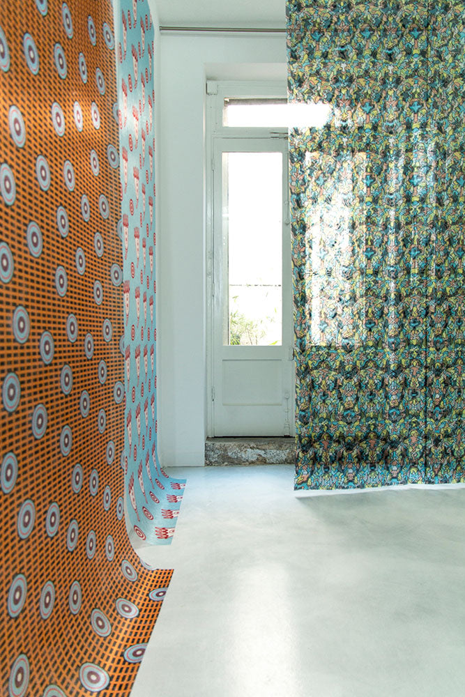 ZigZagZurich x CoopDPS x 4Spaces Paris Show Home Textiles Fabrics Curtains Wall Coverings
