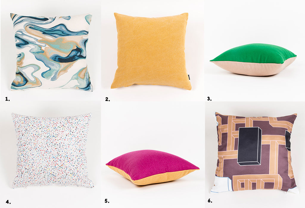 pillows moodboard