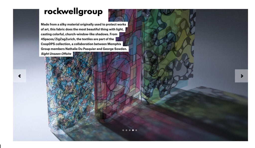 Rockwell Group x ZigZagZurich Best of NYC x Design Week 2016