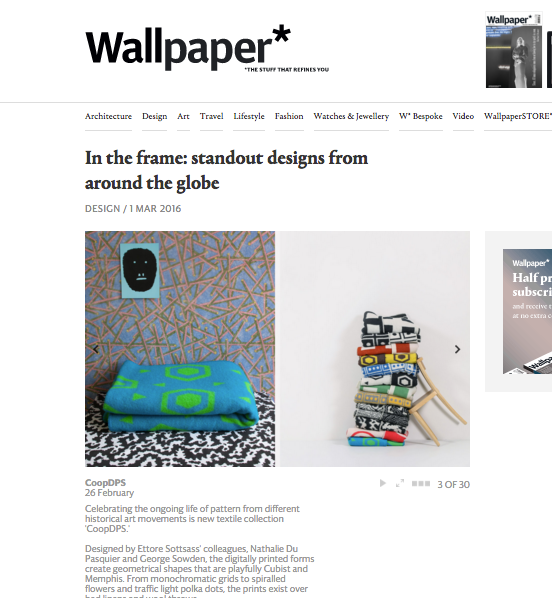 Wallpaper Magazine on ZigZagZurich x CoopDPS
