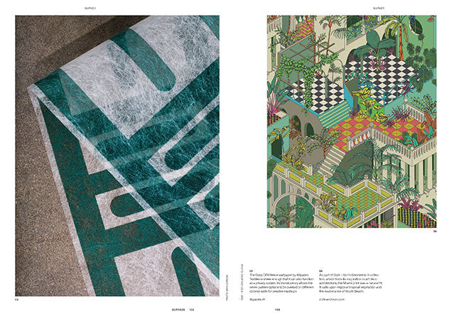 Surface Magazine x ZigZagZurich x CoopDPS Wallcovering