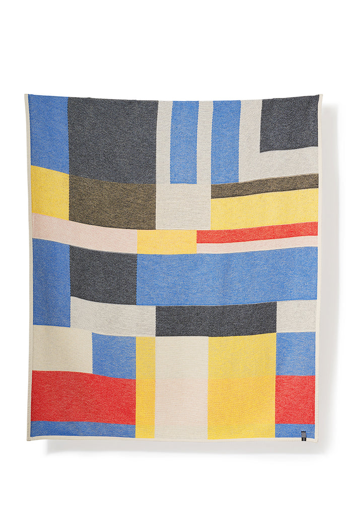 Primary Cotton Blankets & Throws by Sophie Probst & Michele Rondelli