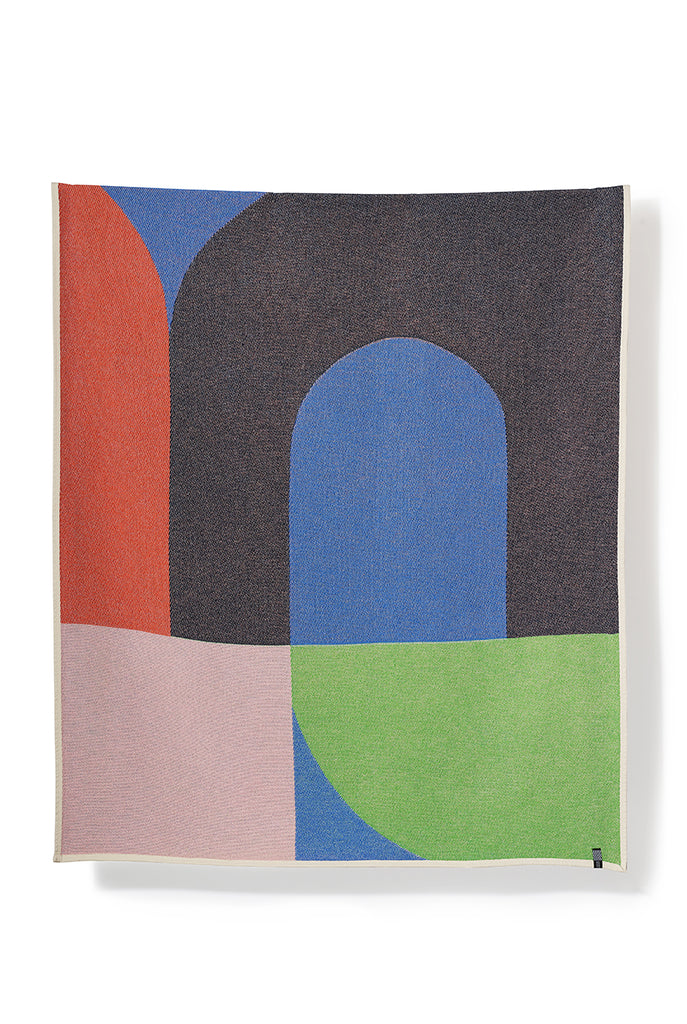 No Title Cotton Blankets & Throws by Sophie Probst & Michele Rondelli