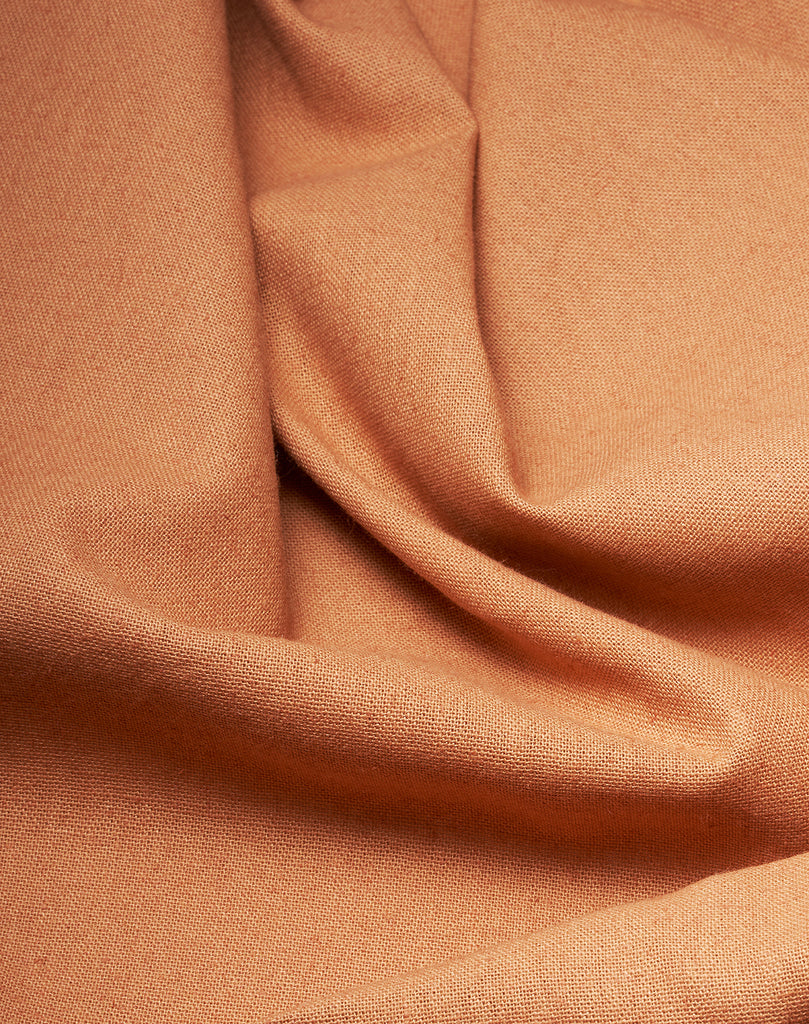 Cannab Hemp and Organic Cotton Curtains - Nude Pink 09