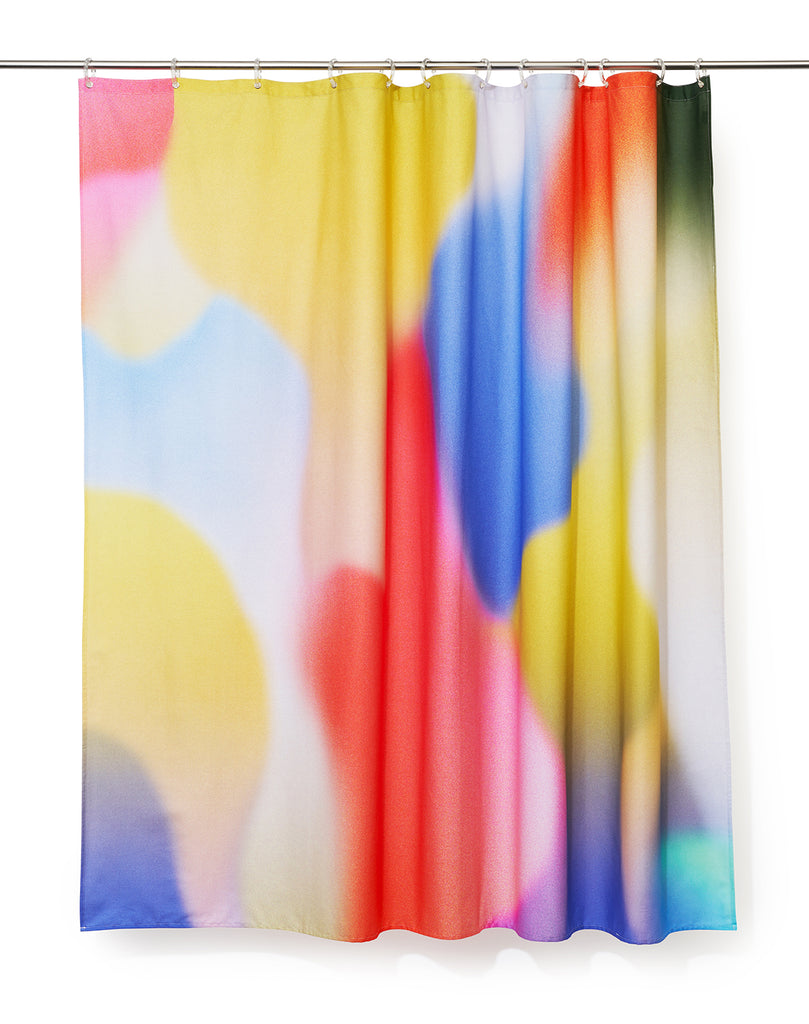 Flame Artist Cotton Shower Curtain ( Waterproof ) by Sophie Probst