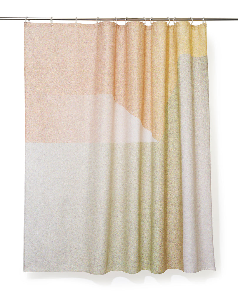 Ramp Artist Cotton Shower Curtain ( Waterproof ) by Celine Cornu