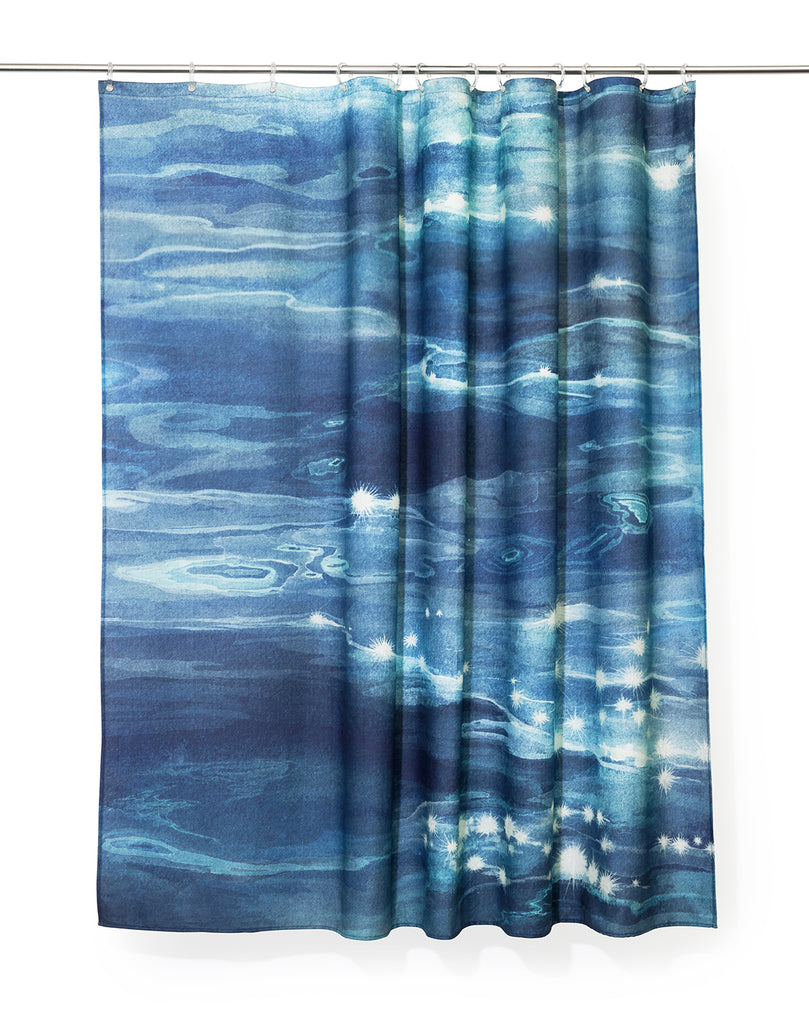 Reflection Artist Cotton Shower Curtain ( Waterproof ) by Karina Eibatova