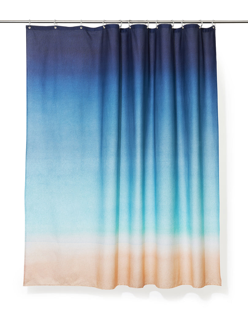 The Beach Artist Cotton Shower Curtain ( Waterproof ) by Karina Eibatova