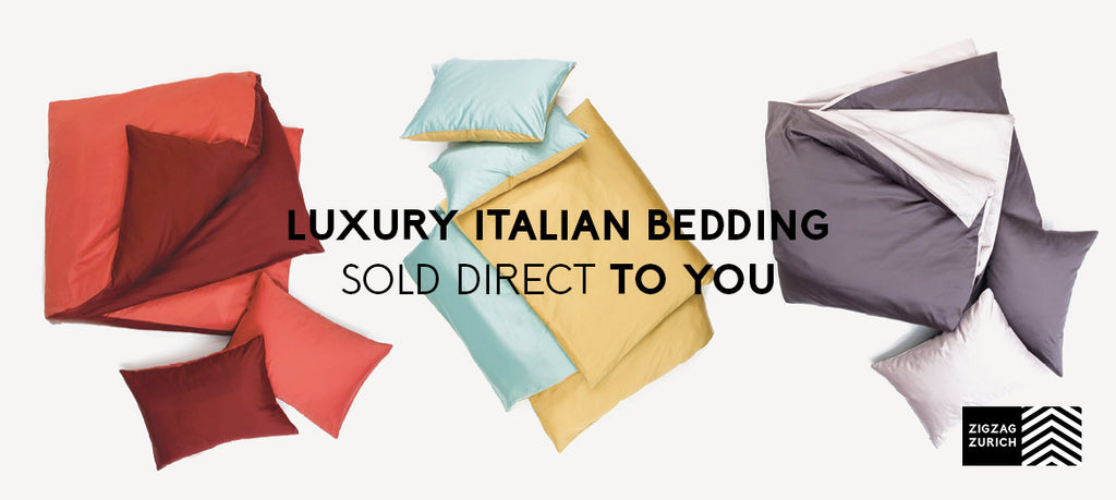 Luxury Italian Bedding at ZigZagZurich