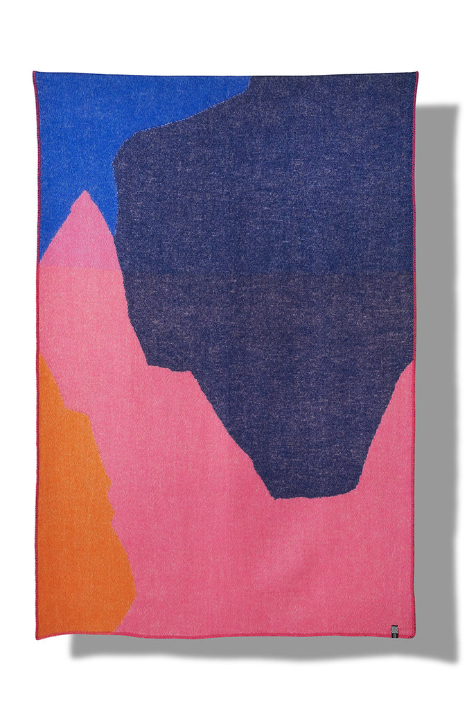 Sasso Wool Blanket by Studio Surface Service