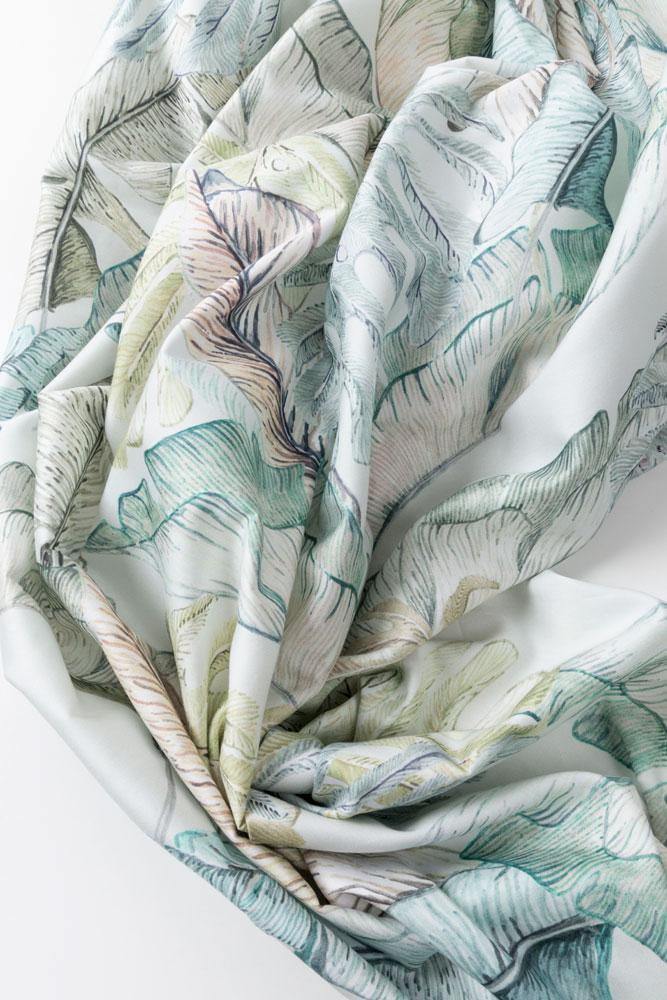 "Artist Cotton Curtains - Garden Of Eden Artist Cotton Curtains 300cm /118""Wide By Sophie Probst"