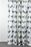 "Artist Cotton Curtains - Hot Chicks Artist Cotton Curtains 300cm /118""Wide By Sophie Probst"