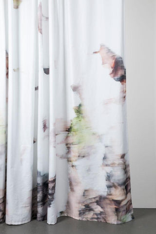 "November Morning Artist Cotton Curtains 300cm /118""Wide by Nora Ludin"